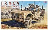 モデルコレクト 1/72 アメリカ軍 M-ATV MRAP プラモデル MODUA72122