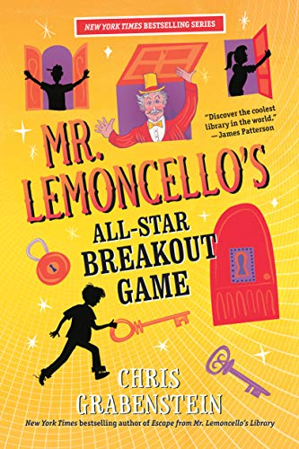 Mr. Lemoncello's All-Star Breakout Game  (Mr. Lemoncello's Library Book 4) (English Edition)
