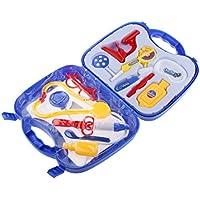 【ノーブランド 品】子供 おもちゃ 遊び 病院 医療キット玩具 医師 看護師 全2色