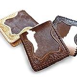 革財布 レザーウォレット ショートウォレット カービング ウォレット レザー 二つ折り 2つ折り swt-cv004cow(ブラック)