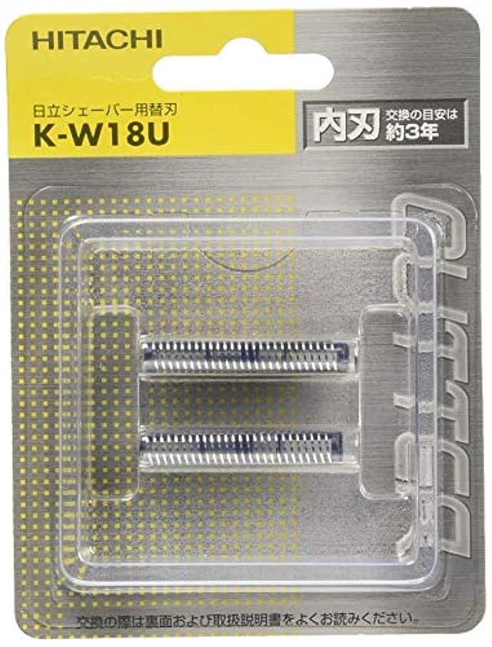 テクニカル手紙を書く関係日立 替刃 内刃 K-W18U