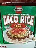 沖縄ホーメル タコライス 12食入り [並行輸入品]