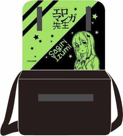 公式グッズ レア エロマンガ先生 フルカラー印刷 バック バッグ メッセンジャーバッグ