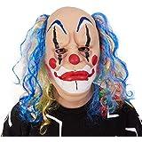 ハロウィーンのマスクホラー帽子幽霊顔学校スクールマスカレードドレスアップ快適な通気性 (色 : B)