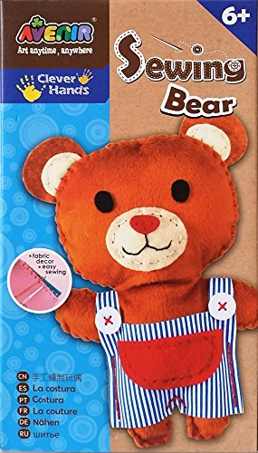 『Creative Kiddie Sewing Crafts for Kids Teddy Bear DIY Kit for Boys and Girls Ages 5 to 12』のトップ画像