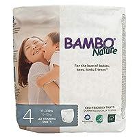 BAMBO Nature プレミアム 紙おむつ パンツタイプ Pants Maxi 4号(Mサイズ) 8-15 ㎏