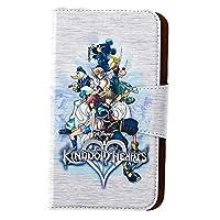[ベルメゾン] ディズニー 手帳型 スマートフォンケース / キングダム ハーツ ホワイト タイプ:iPhone5・5s・SE