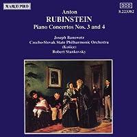 ルビンシュテイン:ピアノ協奏曲第3, 4番