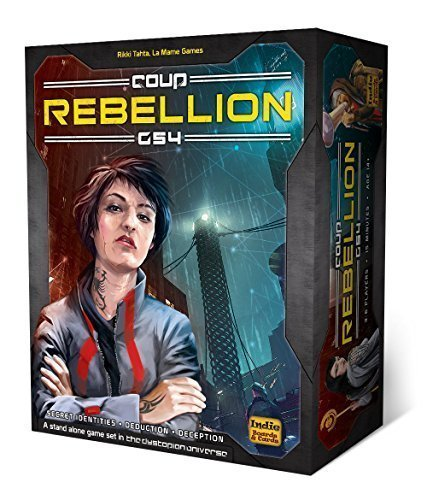 クー リベリオン (Coup: Rebellion G54 Kickstarter Edition) (The Dystopian Universe) カードゲーム