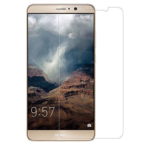 AMOVO Huawei Mate 9 フィルム Mate 9 強化ガラス 硬度9H 2.5D ラウンドエッジ加工 (Huawei Mate 9, 1枚)