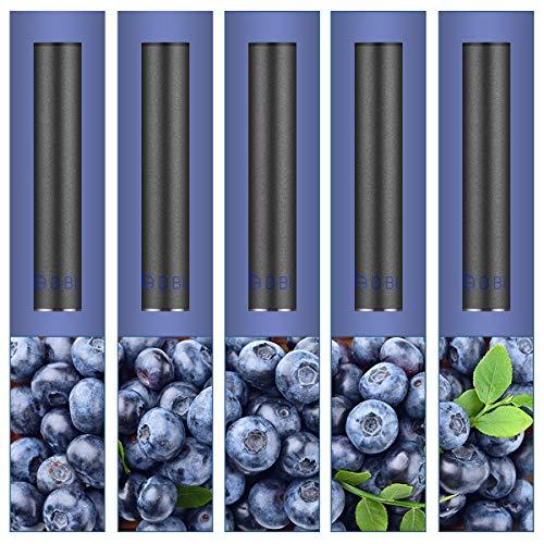 プルームテック Ploom Tech 互換 フレーバーカートリッジ 電子タバコ 交換用 メンソール配合 ブルーベリー 5本