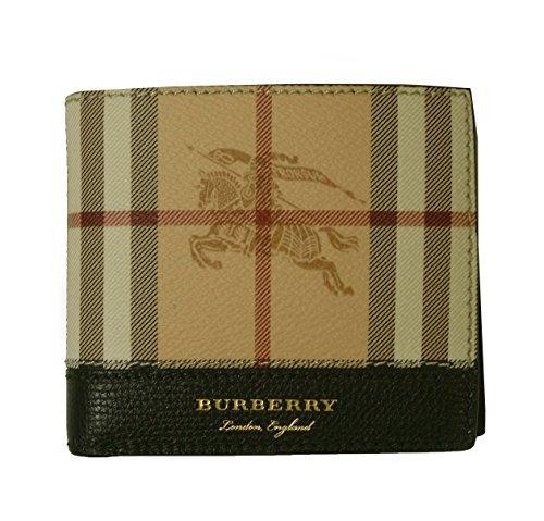 (バーバリー)BURBERRY 財布 メンズ 二つ折り ヘイマーケット ブラック 4065241 BR-1371 [並行輸入品]