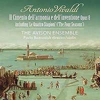 ヴァイオリン協奏曲集『和声と創意への試み』全曲 パヴロ・ベズノシウク&エイヴィソン・アンサンブル(2CD)