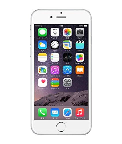 Apple iPhone 6 16GB シルバー 【国内版SIMフリー】MG482J