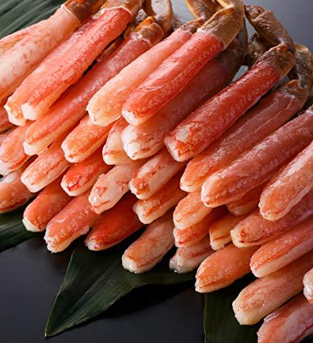 お刺身で食べられる ズワイガニ 太脚棒肉100% プレミアム...