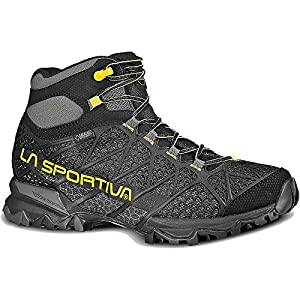 La Sportiva Core High GTX Boot - Men\'s Black / Yellow 42 [並行輸入品]