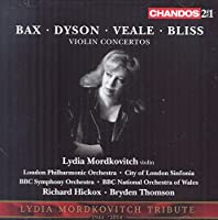 Bax/Dyson/Veale/Bliss: Violin
