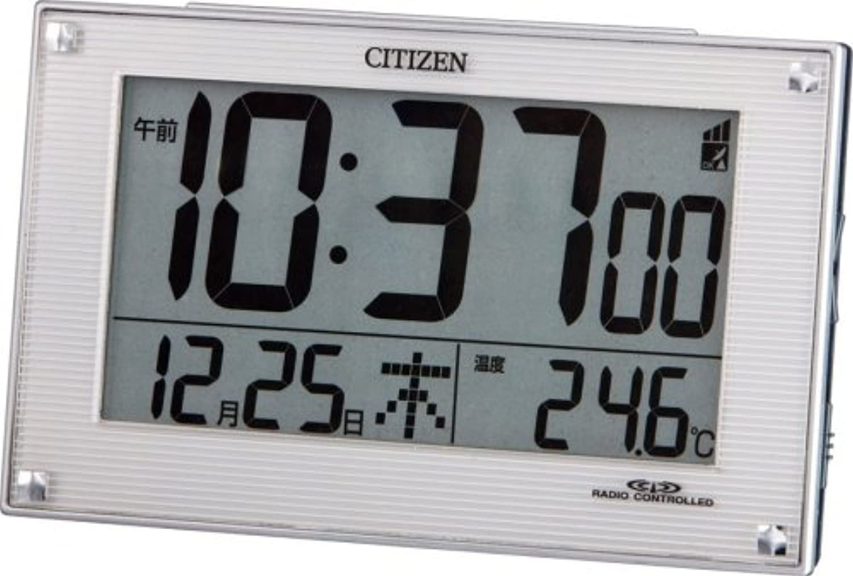CITIZEN (シチズン) 目覚し時計 パルデジットR079 電波時計 8RZ079-003