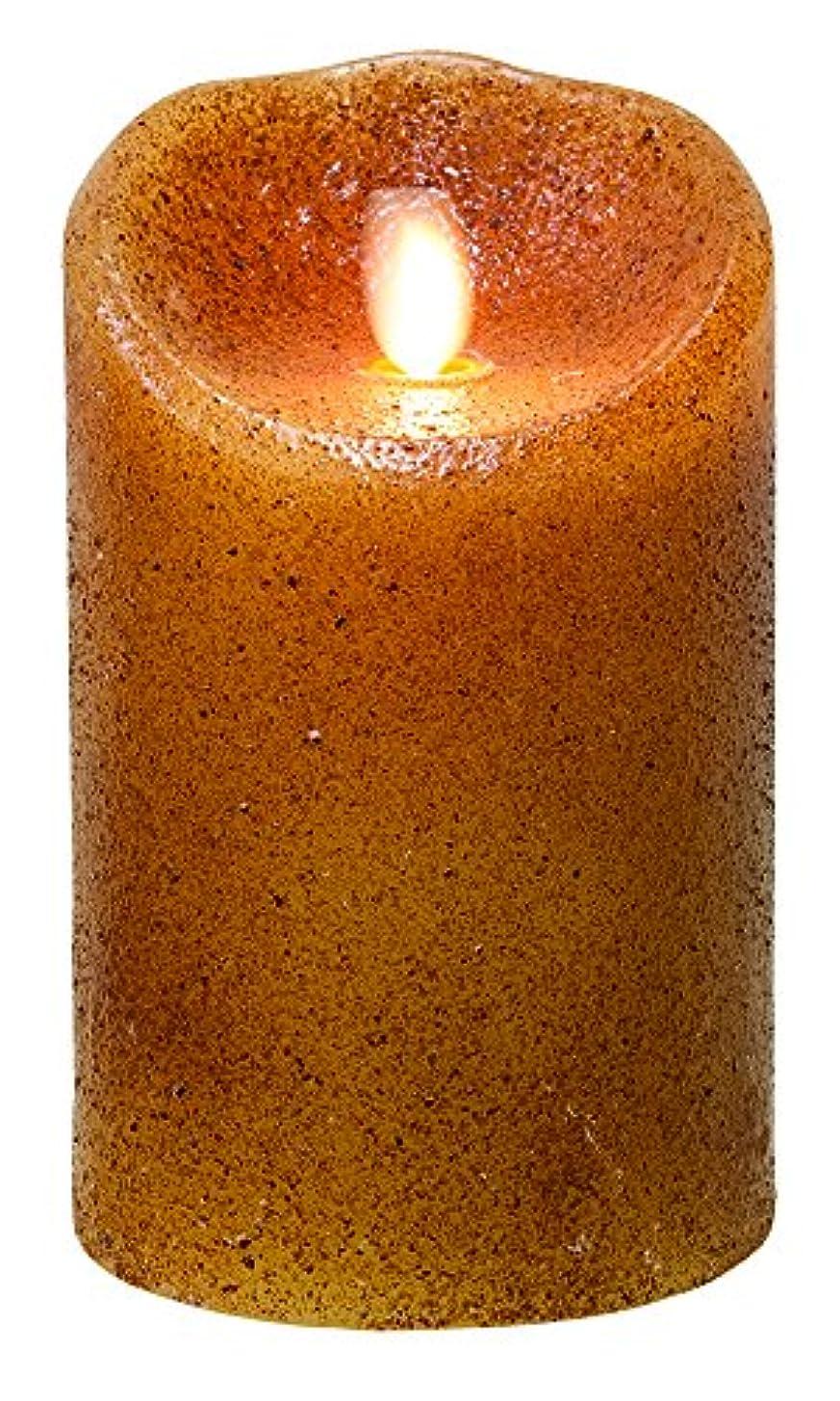 ペデスタル後継努力CWIギフトプリミティブLuminara LED Pillar Candle