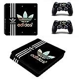 adidas PS4 slim スリム  専用スキンシールΓスポーツ アディダス Adidas 」 本体用 + コントローラー用 × 2枚 ノーブランド 0106 [並行輸入品]