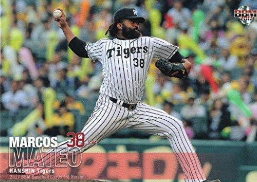 BBM2017/1st■レギュラーカード■250/マテオ/阪神≪ベースボールカード≫