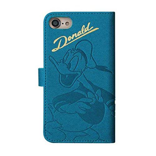 【DIGD7-03】iPhone7 iPhone6s/6 手帳型iPhoneケース 箔押し ディズニー カード収納 スマホケース 【ドナルド】 ドナルドダック Disney