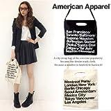【アメリカ製】American Apparel アメリカンアパレル シティバッグ トート シティストラップバッグ 2色