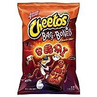 Cheetos Flamin Hot Bag Of Bones Puffs チトスフラミン ホットパックオブボーンズパフス210g [並行輸入品]