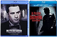 Once Upon A Time In America & Carlito's Way [Blu-ray] 2 Pack Crime Movie De Niro & Pacino Set
