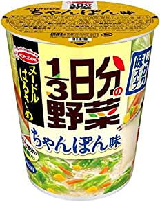 エースコック ヌードルはるさめ 1/3日分の野菜 ちゃんぽん味 43g×6個