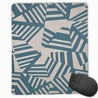 シンプルパターン マウスパッド オフィス おしゃれ 滑り止め & 耐洗い表面 パソコン PC 周辺機器 マウス用パッド マウス マウス敷 マウスパット