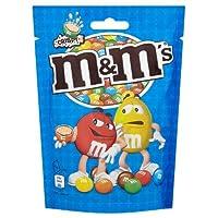 M & M's Crispy Pouch Chocolate Sweets - 12 x 141gm