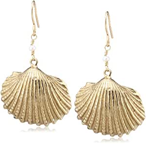 [チビジュエルズ] chibi jewels シェルピアス(Cockle) E065 Cockle Shell Earrings