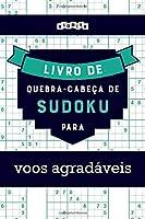 Livro de quebra-cabeças de Sudoku para voos agradáveis