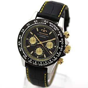 [テクノス スイス]腕時計 DIAMOND スポーツ クロノグラフ メンズ