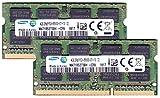 サムスン純正 PC3-8500(DDR3-1066) SO-DIMM 4GB×2枚組 ノートPC用メモリ iMac/Mac mini/MacBookPro対応対応