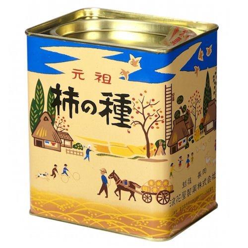 柿の種 進物縦缶 190g