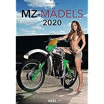 MZ Maedels 2020: Aesthetische Erotik-Fotografien mit MZ Motorraedern