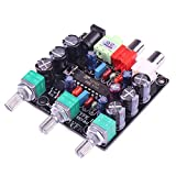WINGONEER Mini XR1075 BBEトーン調整モジュールDC 10-26V / AC 9-20V電源ベース/トレブル/ボリュームコントロール2チャンネルCDコンピュータ用MP3 MP3 MP4 DIYなど