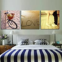【UNUSUAL】壁掛け装飾 アートパネル 額縁がない ?景 壁掛け モダン 愛 LOVE  恋人へのギフトとしては最適