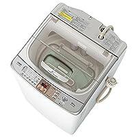 アクア 10.0kg 洗濯乾燥機 クリアホワイトAQUA ツインウォッシュ AQW-TW1000D-WX