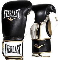 Everlast PowerLock Hook & Loop エバーラスト パワーロック フック & ロープ ボクシング グローブ ブラック/ホワイト
