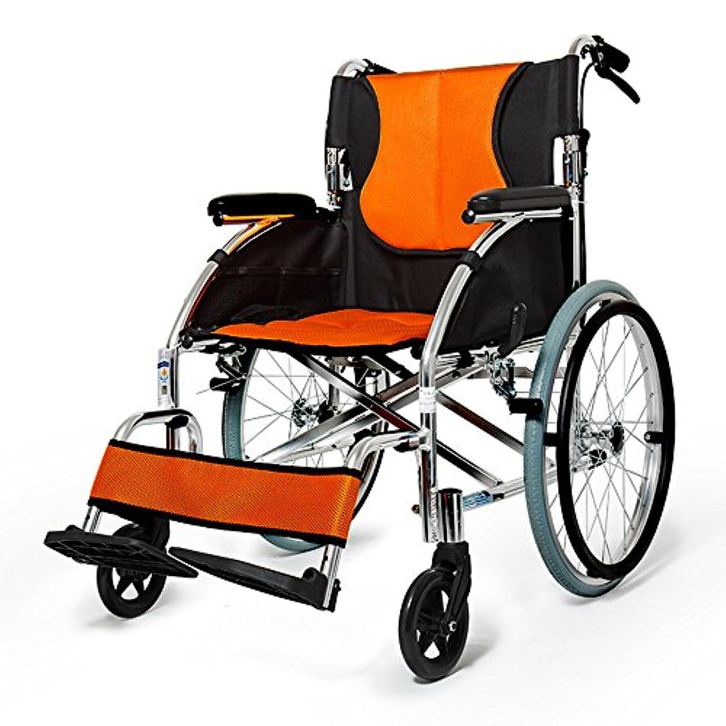 司法ルーフ調子QFFL 車椅子高齢者スチール折り畳み式折りたたみ式椅子障害のあるスクーターインフレータブル小型車いす2色展開 松葉杖ウォーカー (色 : B)