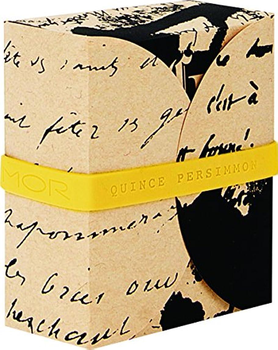 キャンバス童謡事業内容MOR(モア) コレスポンデンス トリプルミルドソープバー クインスパーシモン 180g