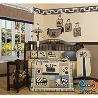 GEENNYブティック13ピースベビー寝具セット、男の赤ちゃんのコンストラクタ
