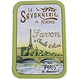ラ?サボネリー アンティーク缶入り石鹸 タイプ200 セーヌ河(ローズ)