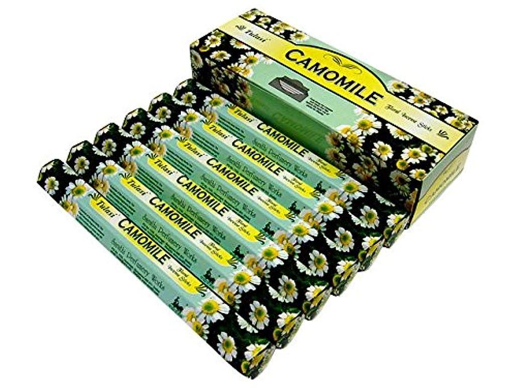 キャメルたぶん予言するTULASI(トゥラシ) カモミール香 スティック CAMOMILE 6箱セット