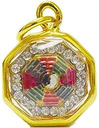 マジックジュエリーペンダントネックレスBuddhist古代チベット陰陽Amulet Good Luck Charm