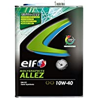 elf ( エルフ ) エンジンオイル【MOLYGRAPHITE ALLEZ】10W-40 (4L) 183107【HTRC3】