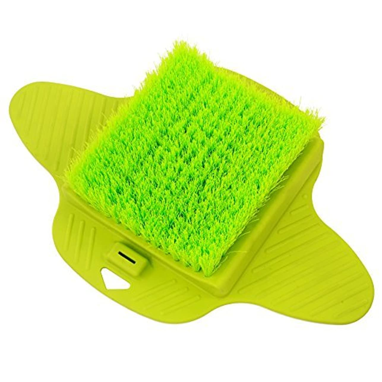 幻想ゴネリルクマノミAurora Health & Beauty AW206 Foot Brush Scrubber with Dense Bristles for Massage Exfoliation and Callus Removal...